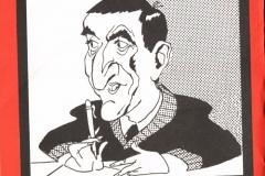 Дружеский шарж Н. Лососинова